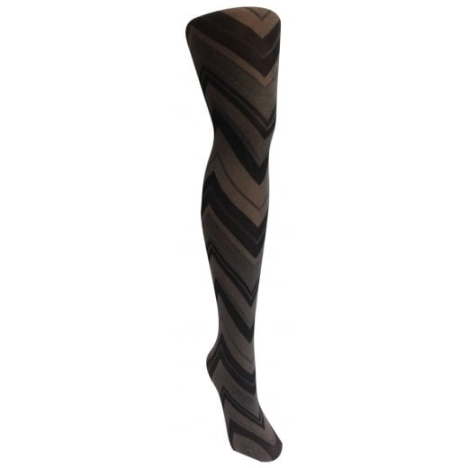 Love Your Legs Zigzag triangle tights