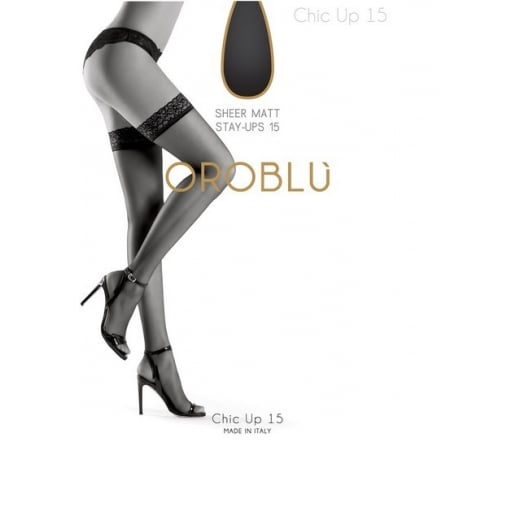 Oroblu Stay-Up Chic 15 Denier Hold Ups