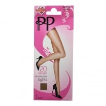 1 Pack 20 Denier Smooth Knit Tights