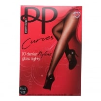 Curves 10 Denier Sheer Tights