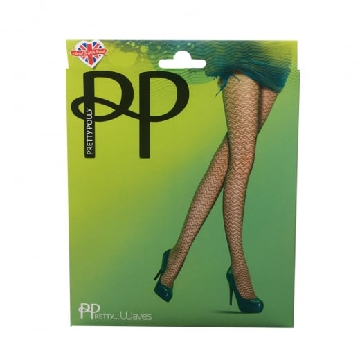 Pretty Polly Pretty Waves Pattern Tights