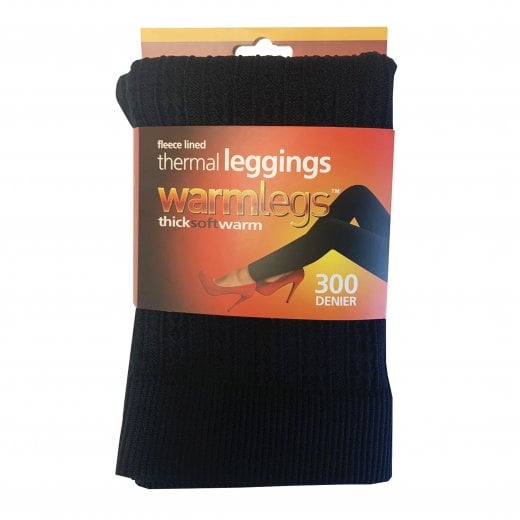 Warmlegs Fleece Lined Chain Leggings