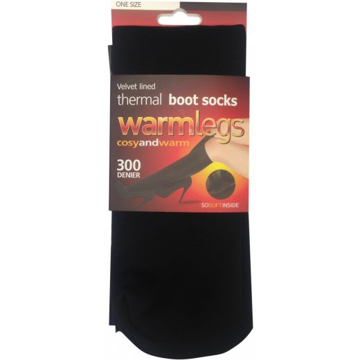 Warmlegs Velvet Lined Boot Socks